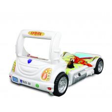 Dětská postýlka Inlea4Fun Truck - bílá Preview