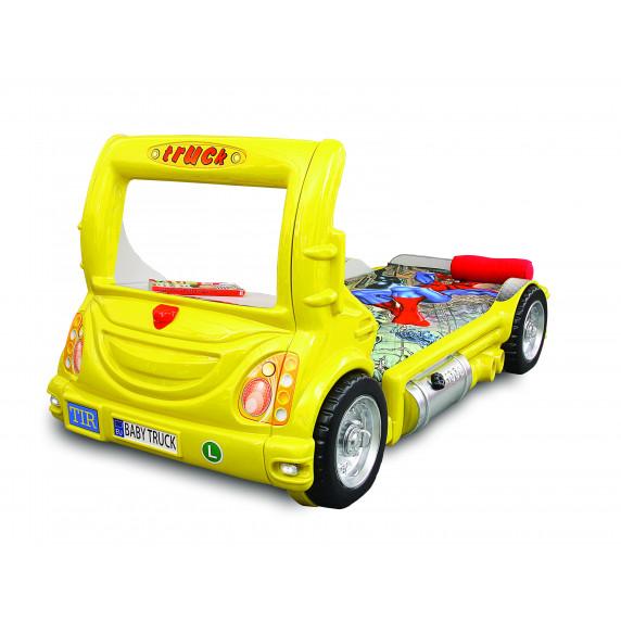 Dětská postýlka Inlea4Fun Truck - žlutá