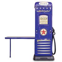 Skříň se stolíkem Čerpací stanice Inlea4fun -  Modrá