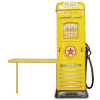 Skříň se stolíkem Čerpací stanice Inlea4fun -  Žlutá