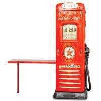 Skříň se stolíkem Čerpací stanice Inlea4fun - Červená