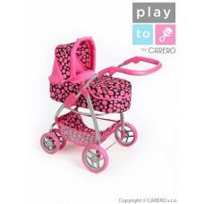 Multifunkční kočárek pro panenky PLAY TO Jasmínka růžový Preview