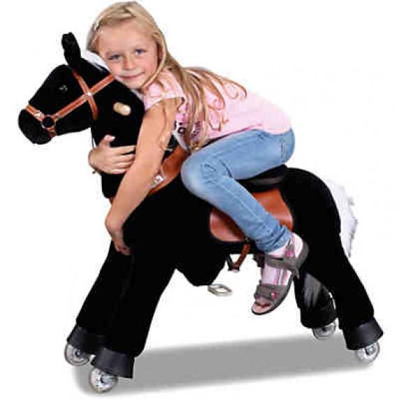 PonyCycle koník černý -Malý