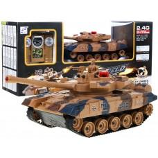 RC bojový tank LEOPARD 2 A6, 1:24 2,4GHz - Yellow Preview