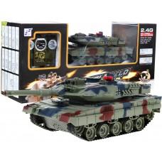 RC bojový tank LEOPARD 2 A6, 1:24 2,4GHz Green Preview