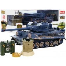 RC bojový tank TIGER s interaktivním bunkrem, 1:28 2,4GHz Preview