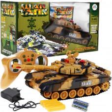 Tank na dálkové ovládání RC Tank WAR Camouflage - žlutý Preview