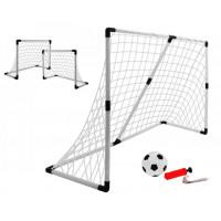 Inlea4Fun Football Sport fotbalová branka 2v1