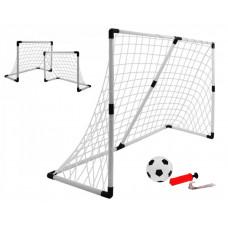 Inlea4Fun Football Sport fotbalová branka 2v1 Preview