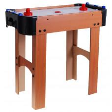 Stůl na stolní hokej Inlea4Fun Air Hockey - imitace dřeva Preview