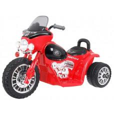 Dětská elektrická tříkolka Chopper - červená Preview
