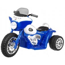 Dětská elektrická tříkolka Chopper - modrá Preview