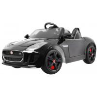 JAGUAR F-type R elektrické autíčko lakované provedení - černé