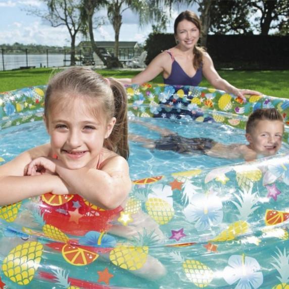 BESTWAY dětský bazén TROPICAL 170 x 53 cm 51048
