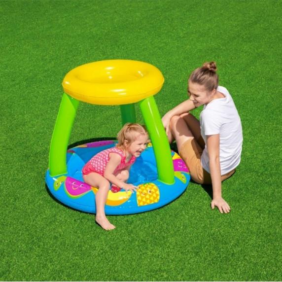 BESTWAY dětský bazén se stříškou 94 x 89 x 79 cm 52331