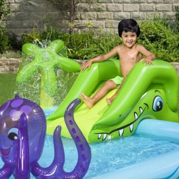 BESTWAY dětský bazén AKVARIUM + příslušenství 53052