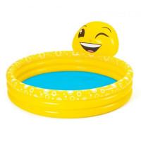 BESTWAY dětský bazén Šťastný emotikon 152 x 51 cm 53081