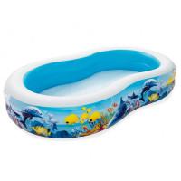 BESTWAY dětský bazén Mořská laguna 262 x 157 x 46 cm 54118