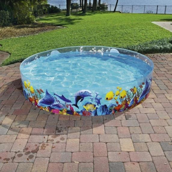 BESTWAY dětský bazén Fill n Fun Odyssea 244 x 46 cm 55031