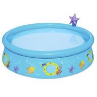 BESTWAY dětský bazén Ryby 152 x 38 cm 57326
