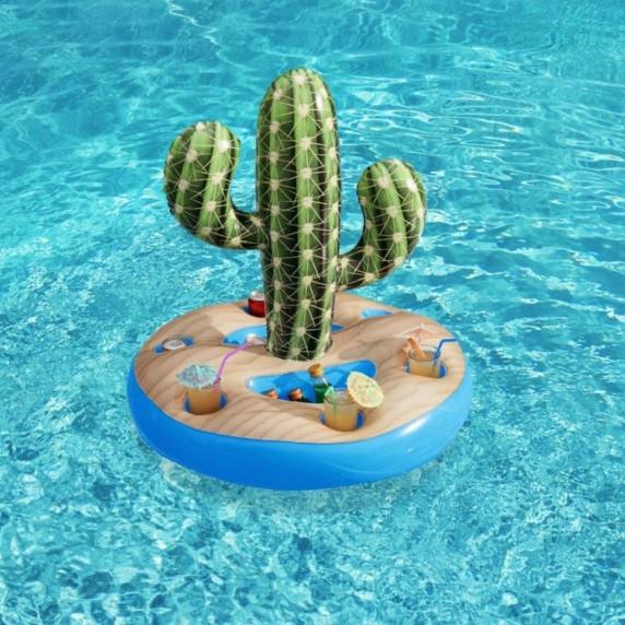 Plávajúci stojan na nápoje Bestway 43244 Kaktus