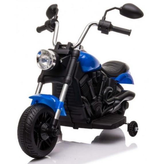 Dětský elektrický chopper V-Max - modrý