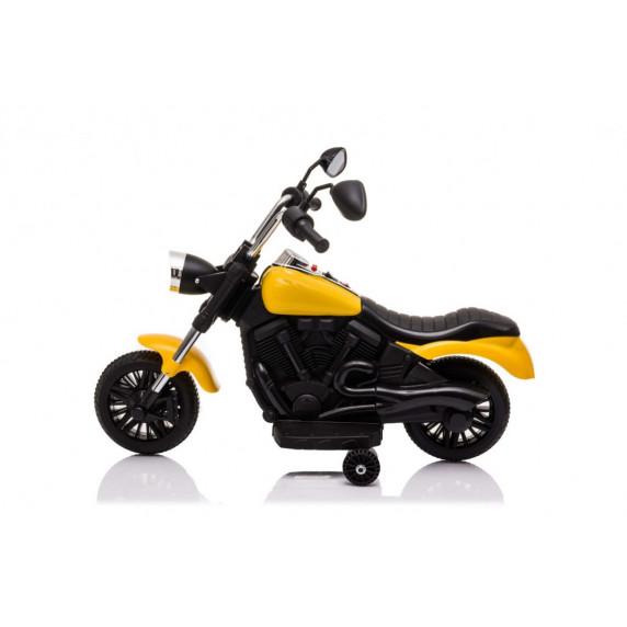 Dětský elektrický chopper V-Max - žlutý