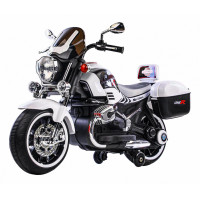 Dětská elektrická motorka 1200CR Inlea4Fun SUPER MOTO - bílá
