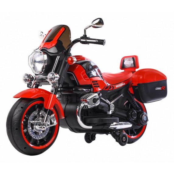 Dětská elektrická motorka 1200CR Inlea4Fun SUPER MOTO - červená