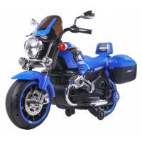 Dětská elektrická motorka 1200CR Inlea4Fun SUPER MOTO - modrá