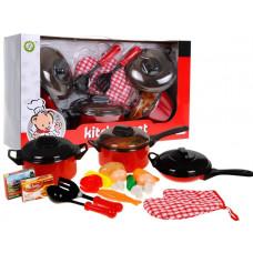 Inlea4Fun Dětské nádobí KITCHEN SET Preview