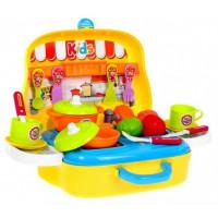Inlea4Fun Malá dětská kuchyňka Food Truck
