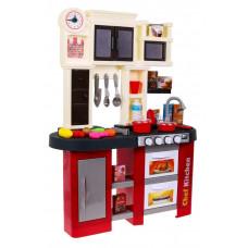 Inlea4Fun TALENTED CHEF Dětská kuchyňka se světelnými a zvukovými efekty s 58 doplňky - červená Preview