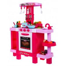 Inlea4Fun KIDS COOK Dětská kuchyňka se světelnými a zvukovými efekty a doplňky - růžová Preview