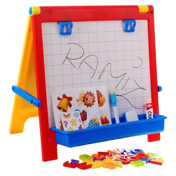 Inlea4Fun LEARN & GROW Magnetická tabule s písmenky