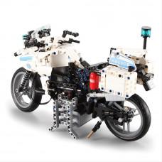 Stavebnice policejní motorka 539 ks Inlea4Fun DETECH Preview