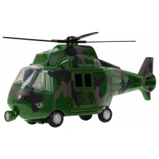 Vojenský vrtulník se svetelnými a zvukovými efekty Inlea4Fun MUSIC COPTER Preview