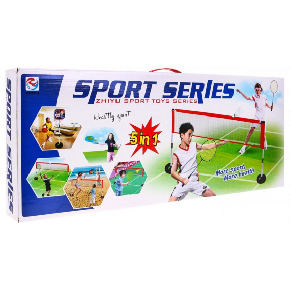 Sada sportových her 5 v 1 Inlea4Fun SPORT SERIES