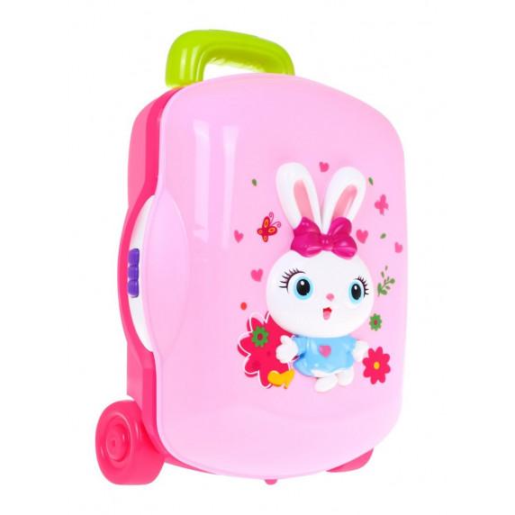 HOLA Kosmetický kufřík s doplňky se světelnými a zvukovými efekty