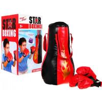 Inlea4Fun STAR BOXING Souprava na boxování pro děti
