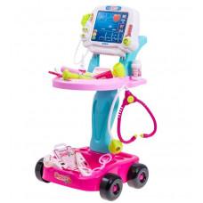 Inlea4Fun MEDICAL PLAY SET Dětský lékařský vozík + 17 kusů příslušenství Preview