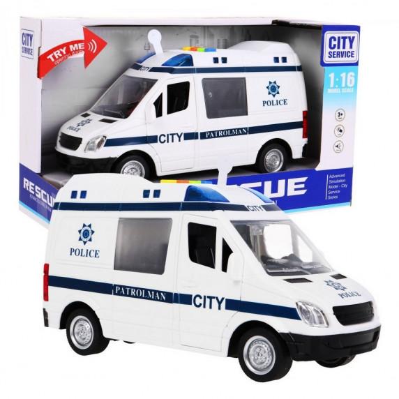 Inlea4Fun policejní auto City Service 22 cm
