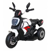 Dětská elektrická tříkolka Inlea4Fun Fast Tourist - bílá