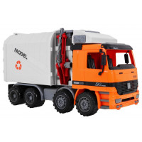 Popelářské auto 37 cm Inlea4Fun Garbage Truck