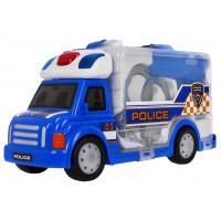 Interaktivní policejní auto v kufříku Inlea4Fun + příslušenství