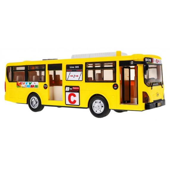Dětský autobus Inlea4Fun CITYBUS - žlutý