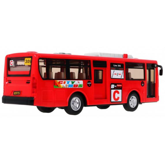 Dětský autobus Inlea4Fun CITYBUS - červený