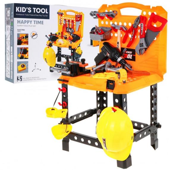 Dětský pracovní stůl s nářadím Inlea4Fun
