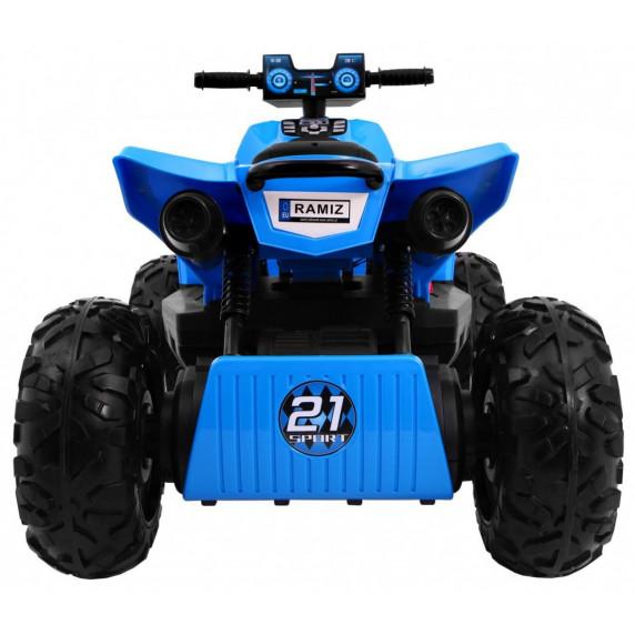Inlea4Fun QUAD SPORT RUN Elektrická čtyřkolka - modrá
