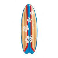 Nafukovací surfovací lehátko INTEX SURFS UP - květinové